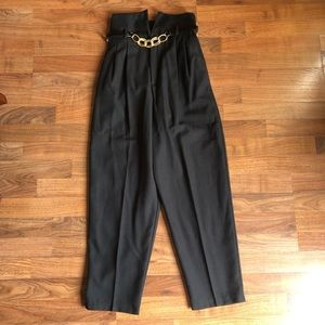 NWT Vintage Daily Habit Black High Waisted Pants